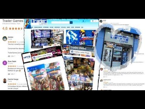 Trader Games , Boutique de retrogaming à Paris et online