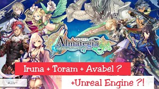 Almategia - A New Mobile MMORPG by Asobimo [Android Gameplay]