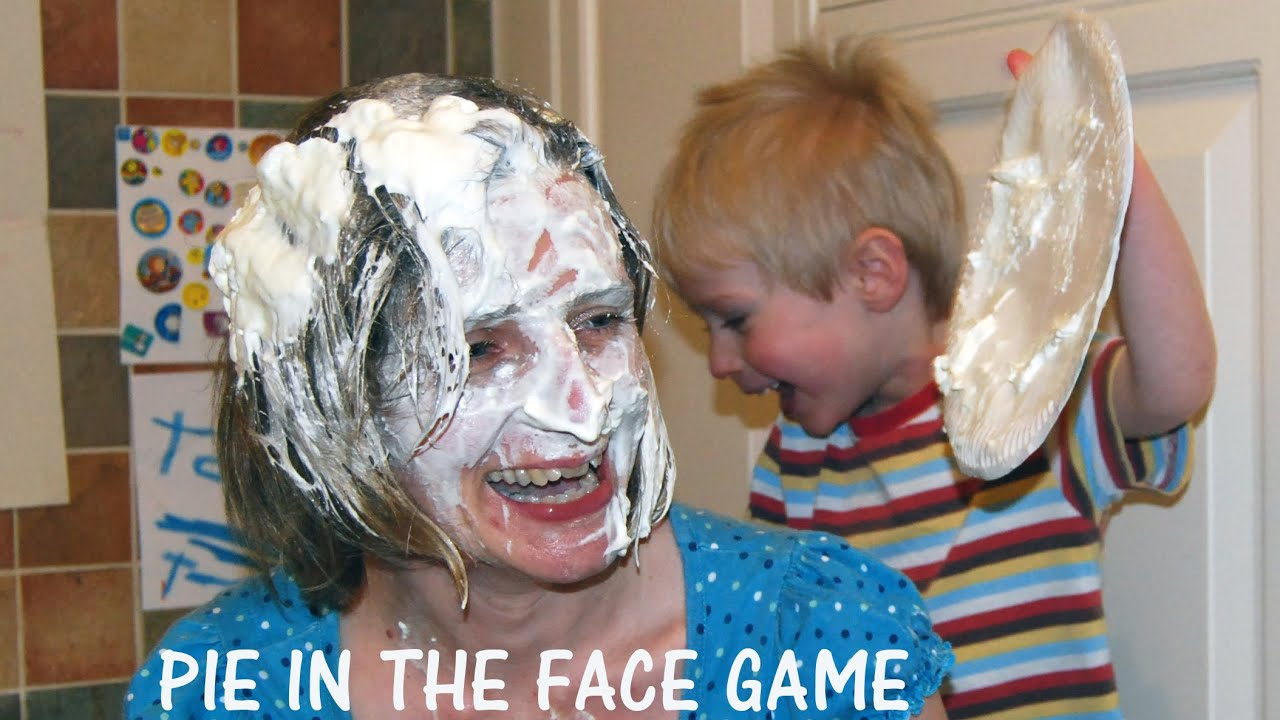 Huskies Play The Pie Face Game! - YouTube