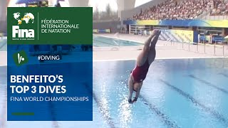 Meaghan Benfeito - Top 3 Dives | FINA World Championships