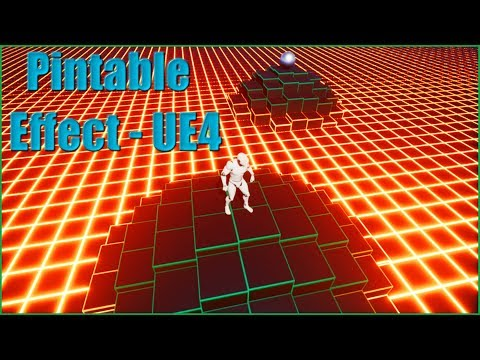 Pintable Effect - [Unreal Engine 4 Tutorial]