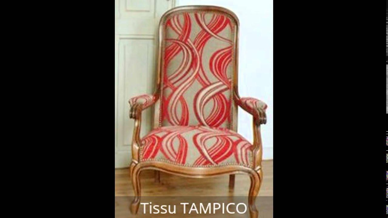 Quel Tissu Pour Chaise des tissus et des voltaires