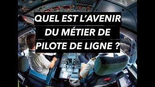 QUEL EST L'AVENIR DU MÉTIER DE PILOTE DE LIGNE ? Conférence IPSA Demain