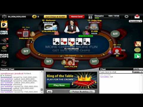 Texas holdem poker on facebook one billion pot
