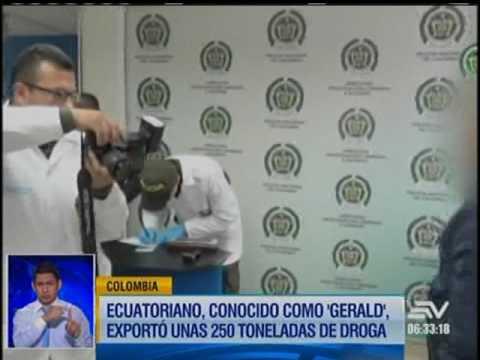 Así operaba 'Gerald', el capo del narcotráfico en Ecuador