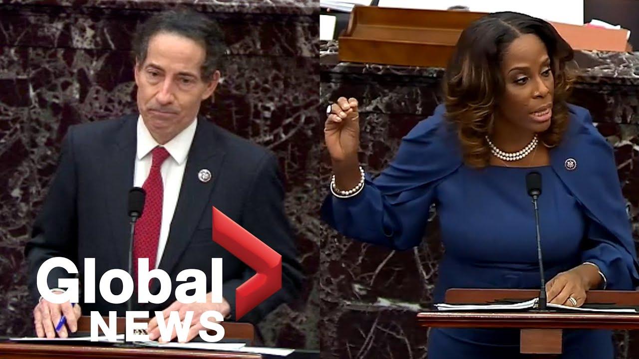 Impeachment manager Plaskett: GOP senators privately said she ...