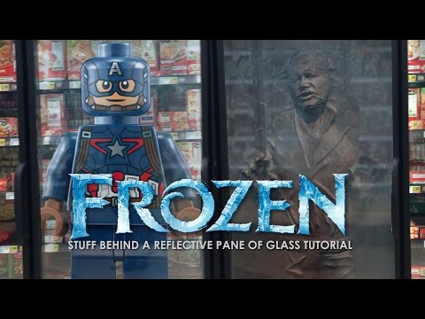 Frozen Behind Glass Tutorial