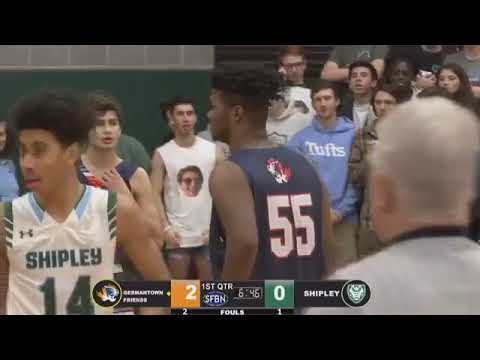 Germantown Academy vs The Shipley School Boys Basketball (SWAMP NIGHT) (2019-01-25)