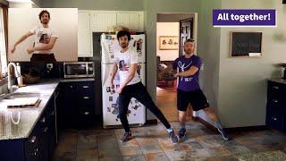Episode 1, Broadway Act II - Kitchen Floor Dance Class