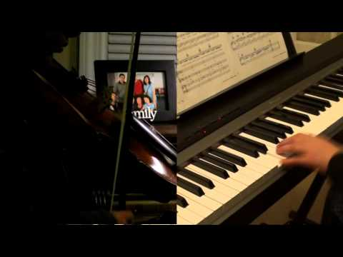 Christmas Canon (Violin and Piano Duet)