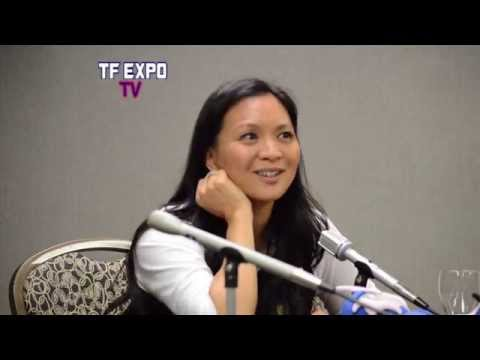 Sumalee Montano Transformers Prime Arcee Panel at TFExpo 2014  Part 2