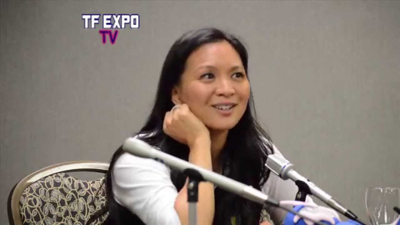 Sumalee Montano Transformers Prime Arcee Panel At Tfexpo 2014