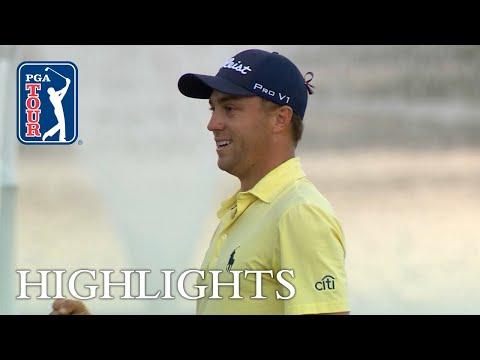 Justin Thomas' extended highlights | Round 4 | Honda
