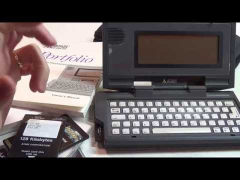 A Tour of an Atari Portfolio, part deux