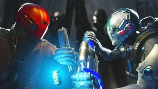 Injustice 2 - Red Hood vs Mr Freeze - All Intro Dialogue, Super Moves And Clash Quotes