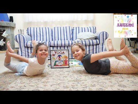 Yoga Challenge🤸επιτραπέζια παιχνίδια για παιδιά διασκέδαση βίντεο για παιδιά ελληνικά greek
