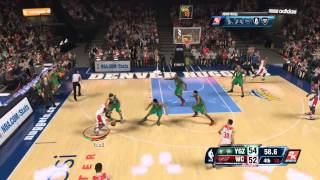 Most Intense Game Ever! (Last 3 Minutes) NBA 2k14 PS4