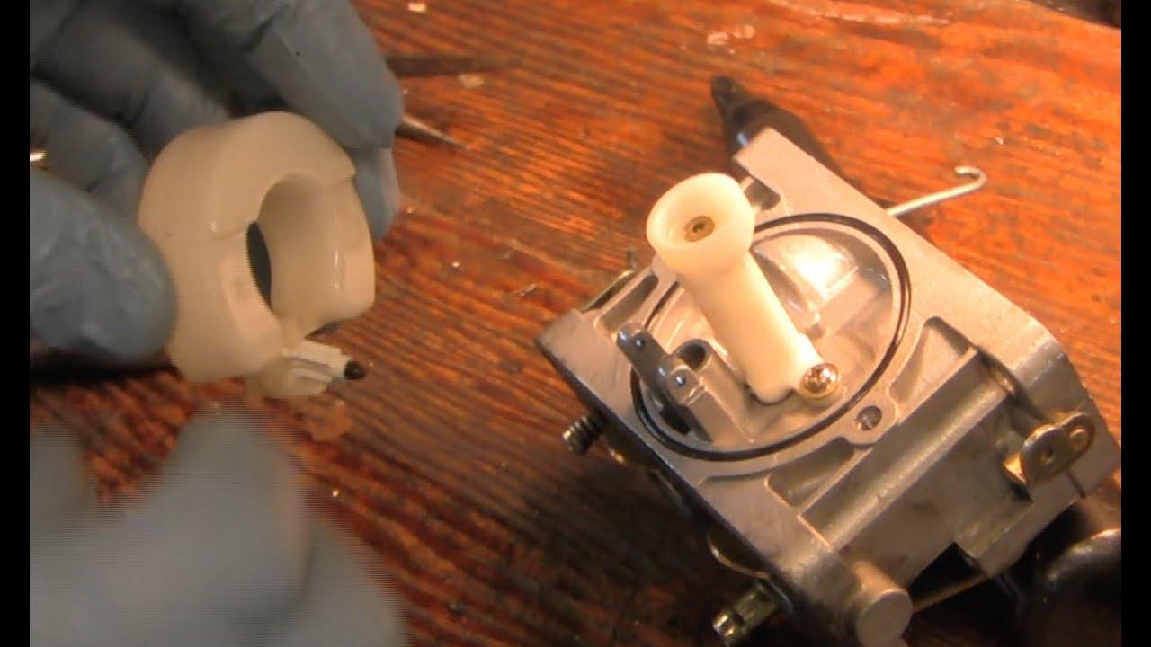 How To Clean A Briggs  U0026 Stratton Nikki Carburetor On An