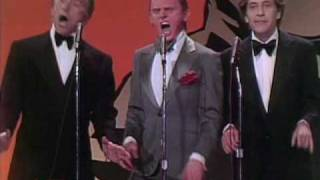 Kirk Douglas, Frank Gorshin and George Segal Sing Give My Regards To Broadway for James Cagney