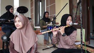 BIKIN KAGET!! Merdunya suara bassis buat bulu kuduk ikut merinding I edisi latihan #qasidah#ezzura