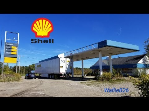 Abandoned Shell Gas Station Erie Pa Youtube