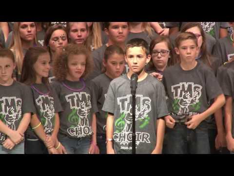 Thatcher AZ Middle School Choirs, Oct 2016