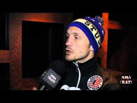 Brad Pickett UFC Fight Night London Pre Fight Interview