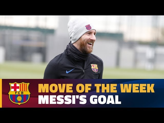 MOVE OF THE WEEK #5 | Messi's amazing goal in training match