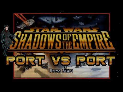 Port vs Port   Star Wars Shadows of the Empire   N64 vs PC   Kelphelp