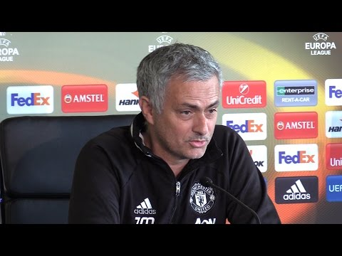 Jose Mourinho Full Pre-Match Press Conference - Ajax v Manchester United - Europa League Final