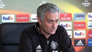 Jose Mourinho Full Pre-Match Press Conference - Ajax v Manchester United - Europa League Final