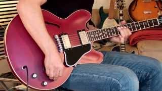 2011 Gibson ES-335 Dot, cherry satin, Part2
