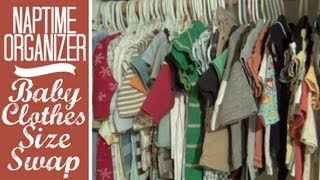 Naptime Organizer: Baby Clothes