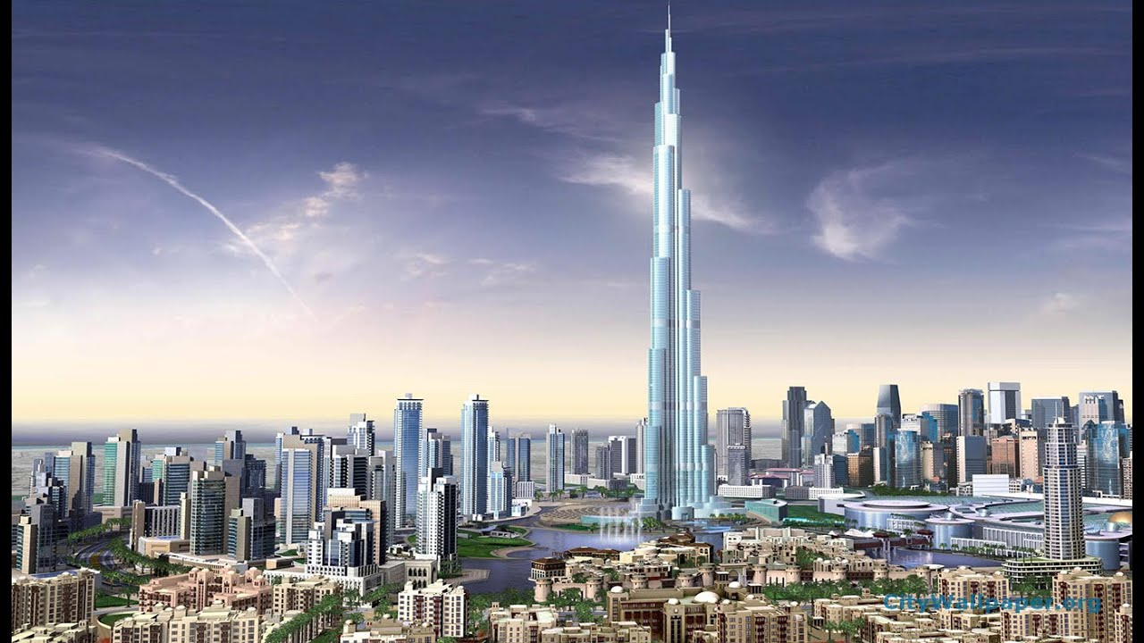 Burj Khalifa Inside Outside Amazing View Dubai Youtube