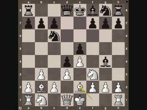 Chess Middle Game Tactic: Pinning the Knight