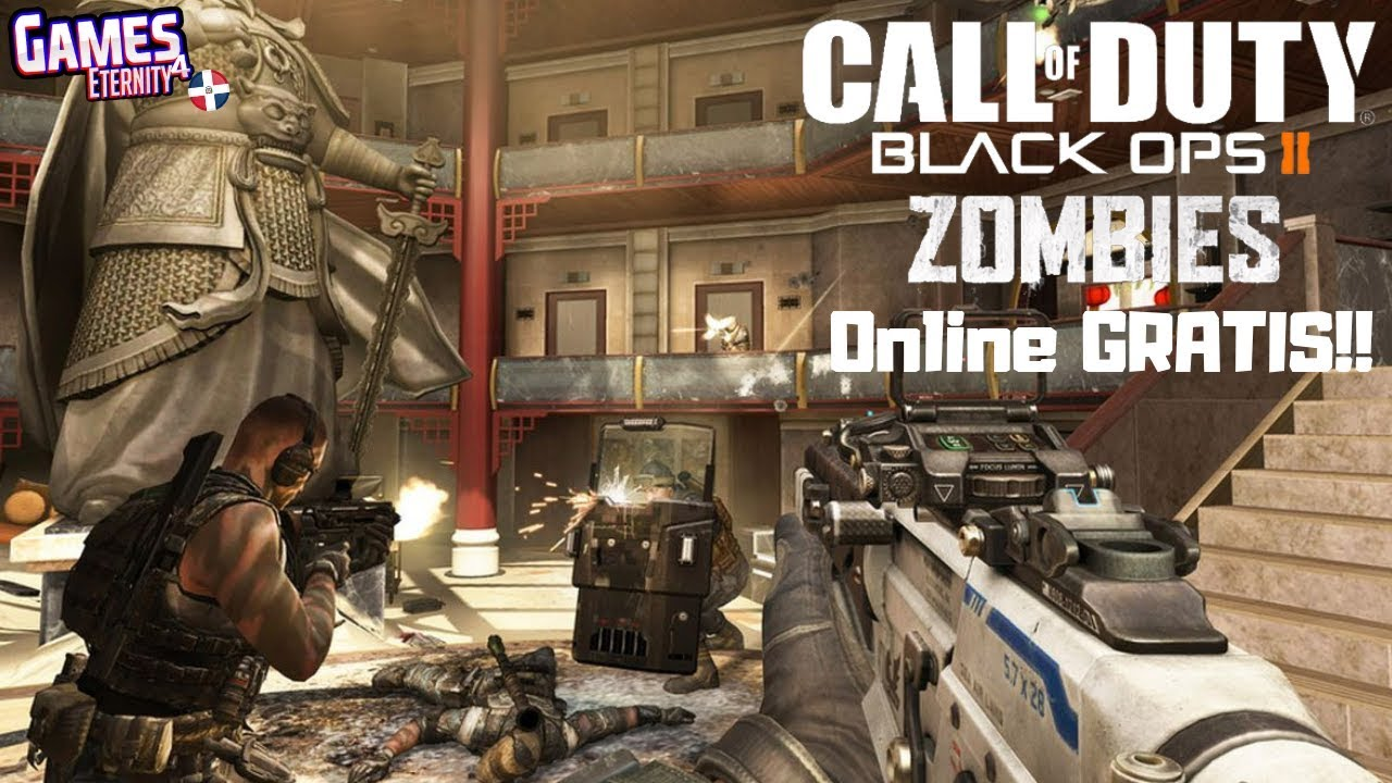 Call Of Duty Black Ops 2 Modo Zombie Online Gratis Pc Multiplayer Tambien Youtube