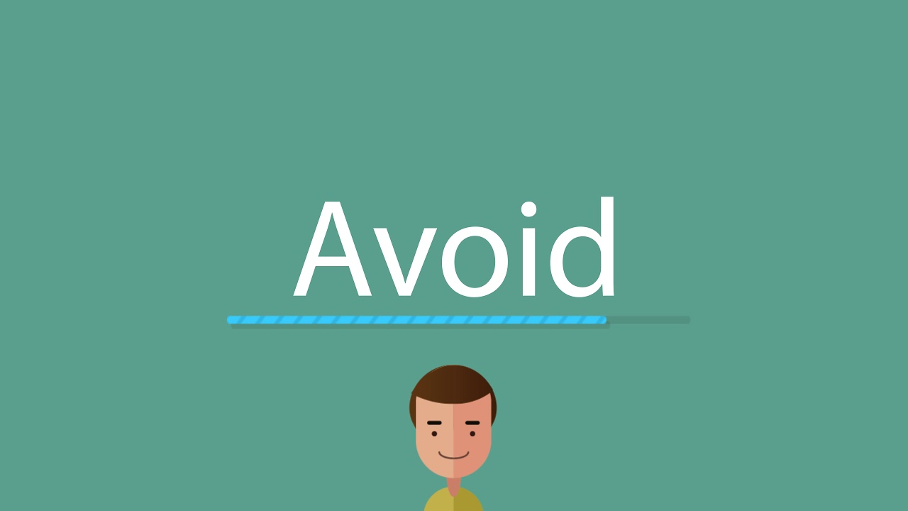 How to pronounce Avoid