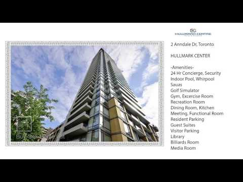 ★★★ Hullmark Center at 2 Anndale Dr - Buy Rent Condo in North York (Sheppard and Yonge)