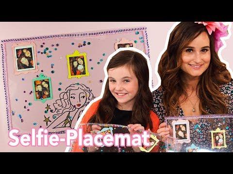 Selfie-placemat maken met Bibi - DIY | Jill