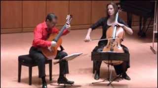 Anja Lechner-Pablo Márquez. Stepan Lucky Duo concertant for cello & guitar