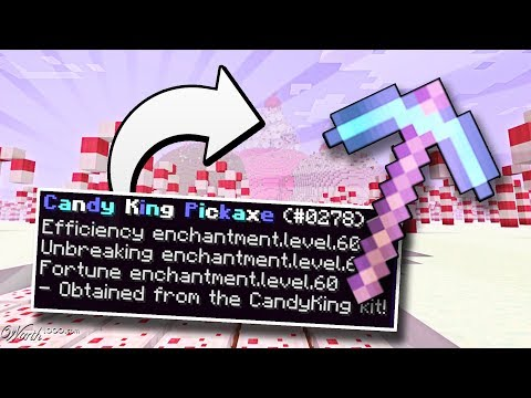 THE MOST OVER POWERED PICkAXE YOU'VE EVER SEEN! - CANDY CRUSH PRISONS #1.5 FIXED THE MIC