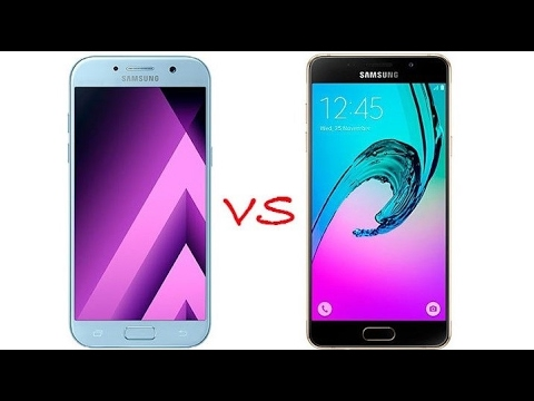 samsung galaxy a5 2017 vs a5 2016 review camera. Black Bedroom Furniture Sets. Home Design Ideas