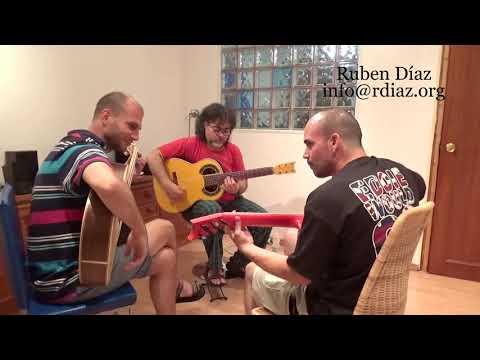 Students Jamming at CFG (Edward Grylls & Alan Cordero) Learn flamenco guitar / Ruben Diaz