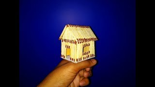 How to Make Matchstick House | Cool Idea (Easy) | Technokriart
