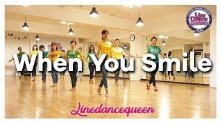 When You Smile Line Dance (Absolute Beginner) José Roy Demo L 라인댄스