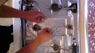 Ремонт газовой плиты Ariston