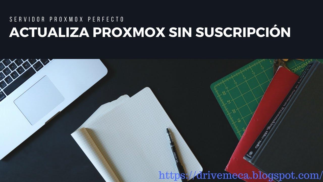 Repeat Actualiza proxmox sin suscripcion | Servidor Proxmox Perfecto