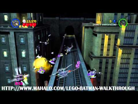 LEGO Batman Walkthrough - Mission 13: Flight of the Bat