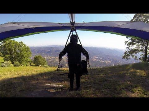 Hang Gliding - Dunlap - Short flight