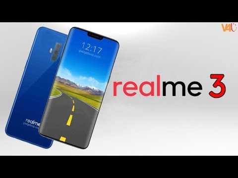 Realme 3 Introduction, Triple Camera, Specifications, 5G Network, 4500mAh, Concept - Latest Updates